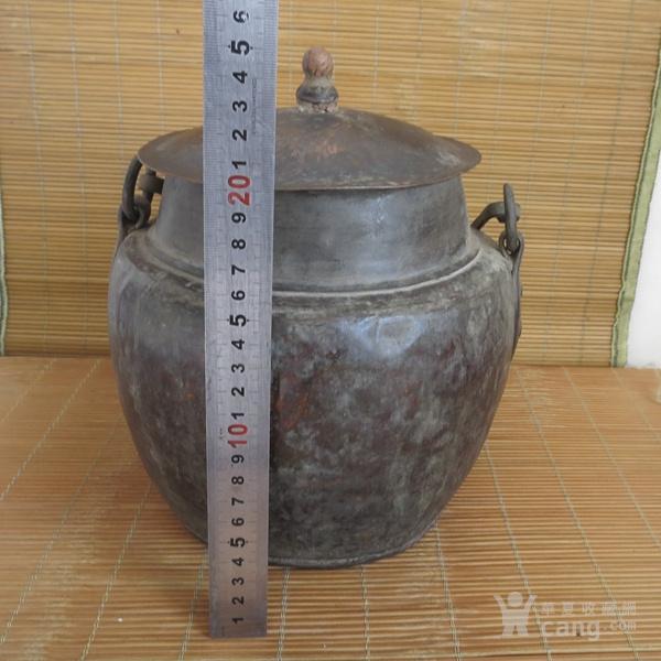 红铜吊罐  老炊具图10
