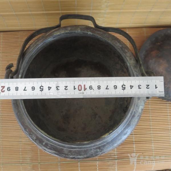 红铜吊罐  老炊具图9