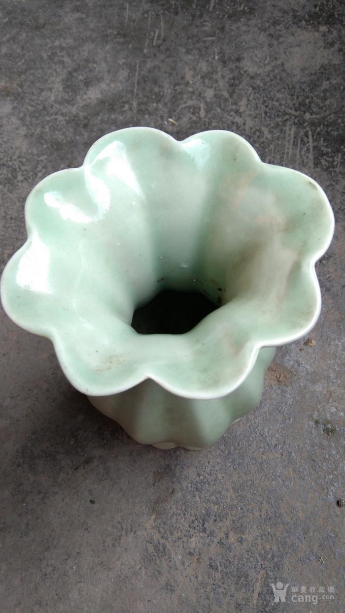 解放初期的龙泉花瓶