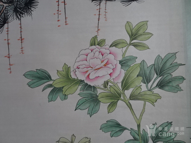 胡锡珪清代花鸟字画
