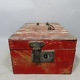 民国木质化妆箱