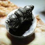 清早期 银质 精工铸造 双龙钮 小篆印章