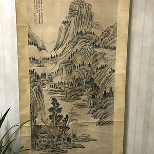 郑午昌山水