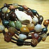 天然 阿拉善 葡萄玛瑙 挂链 颗颗晶莹剔透 美轮美奂