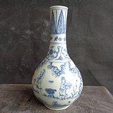 老青花瓶子