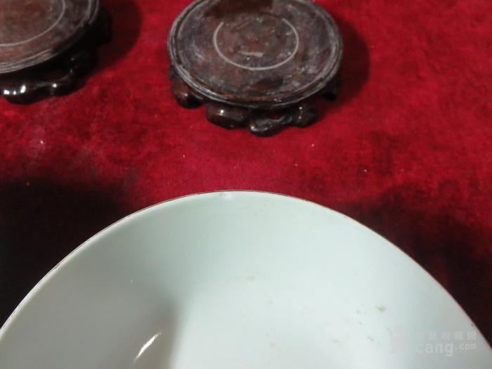 印花碗二只