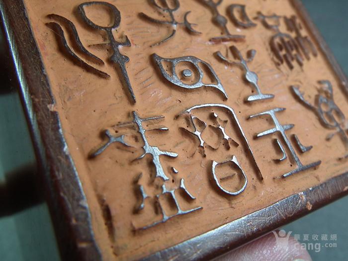 老红寿山石卧兽方形大印章图11