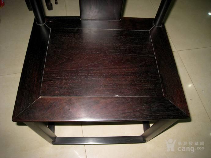 特价明代印度小叶紫檀大号学士椅
