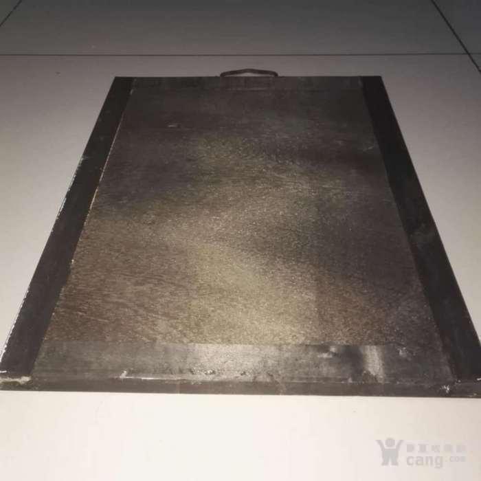 低售镶嵌完好实木框毛主席像瓷板画