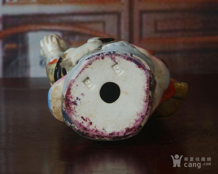 景德镇文革瓷器 粉彩寿星