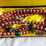 老珍珠朝珠1.5厘米