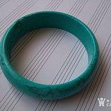 绿松石手镯内直径6厘米