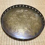 民国二年款铜浮雕赏盘