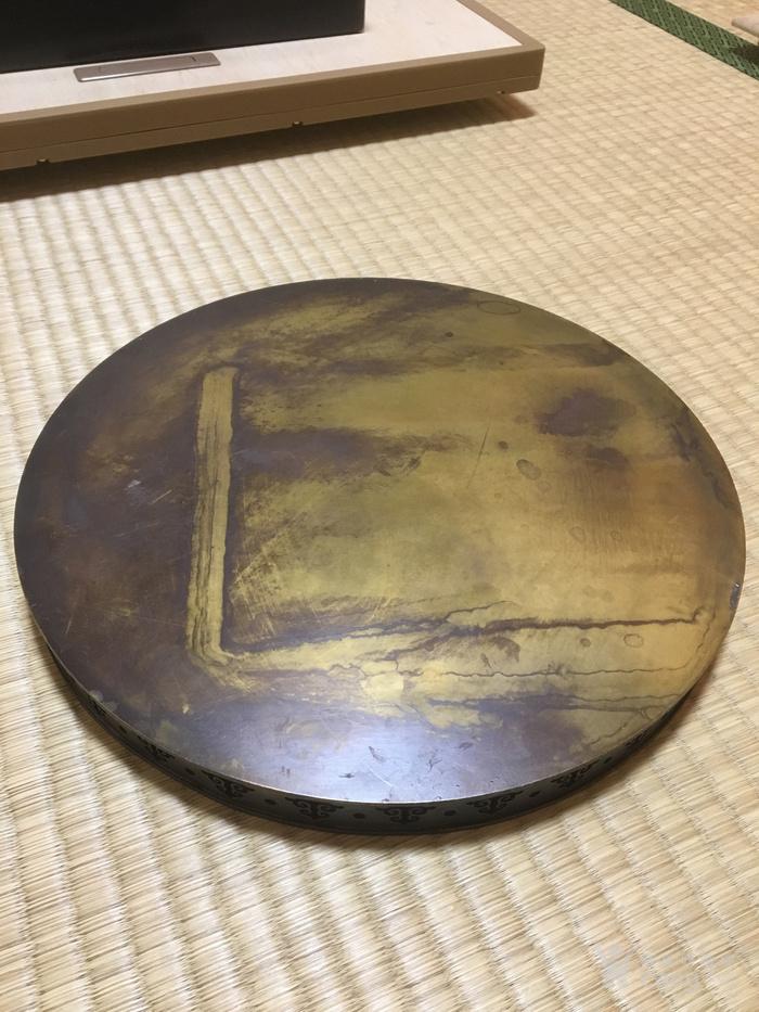 民国二年款铜浮雕赏盘图4