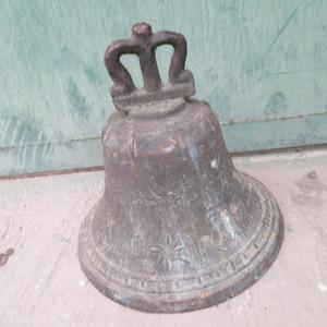 年前处理 厚重老铜钟15100665865
