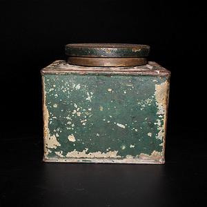 民国方形茶叶罐