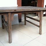 苏作 清代老榉木刀牙板茶桌