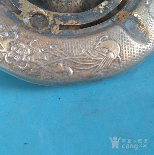 晒福 少见,双凤铝制烟灰缸