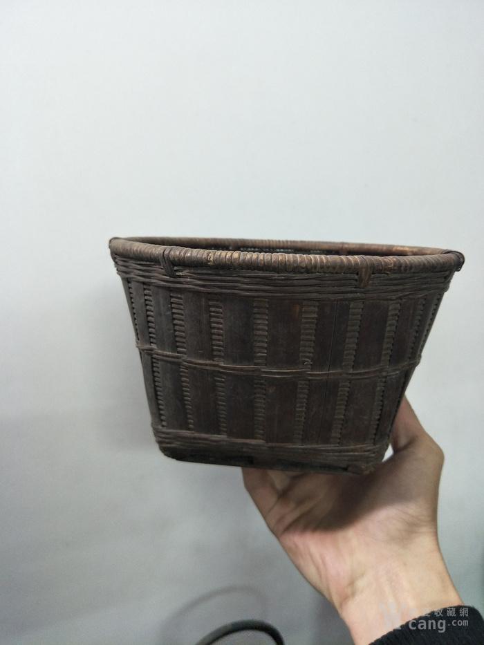 竹篓矢量图简笔画