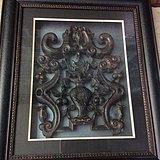 宫廷雕工  红木 四季平安  雕花板 细腻流畅 完整包老