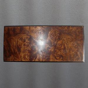 紫檀瘿子木首饰盒