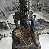 武财神铜像