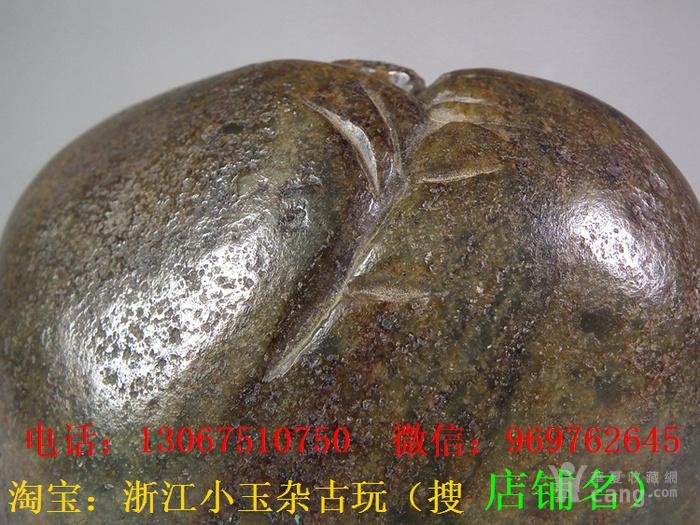 老和田青玉带黑沁老提油圆雕松下高士实心玉山子大摆件图12