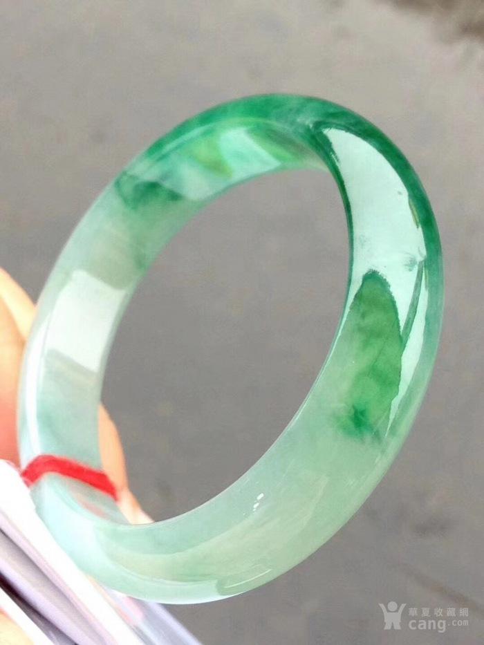 13 阳绿色手镯,特惠价90000