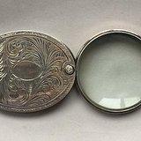 民国时期纯银放大镜