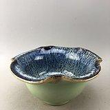 乡下收来的花口瓷碗A5529
