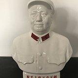 文革时期瓷毛主席像