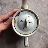 八大山人粉彩茶壶