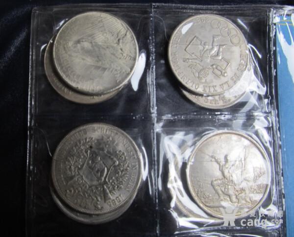 一本 外国银元 收藏币80枚