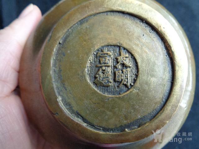 民国时期小铜壶一把