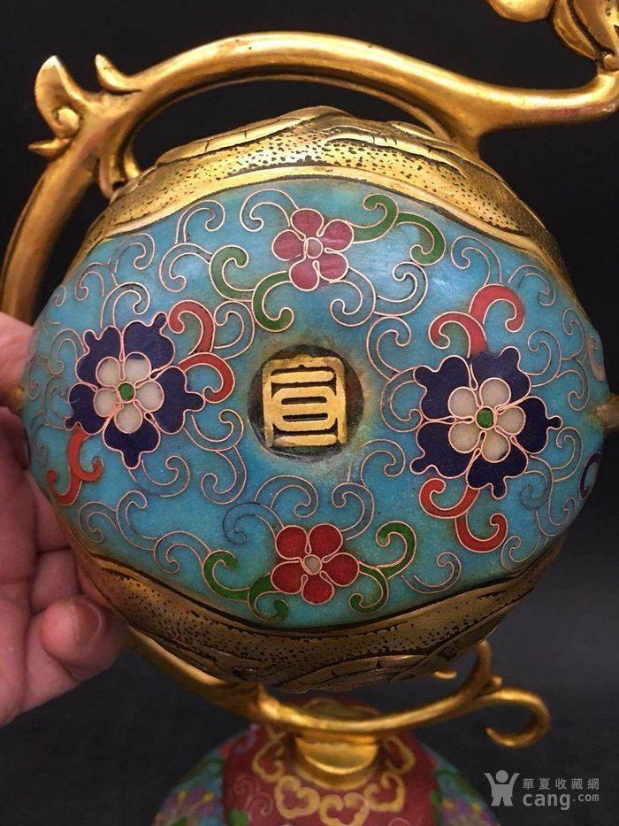 景泰蓝熏香炉