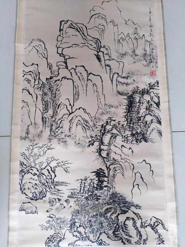 周昌谷书画国画字画