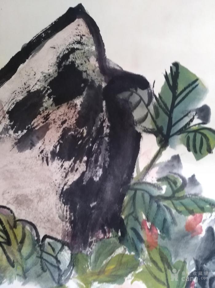 张贞一手绘国画书画字画