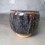 *吉州窑窑釉变罐