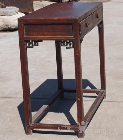 清代漂亮楠木书桌