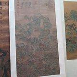 老绢山水画 15100665865