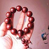 印度 高密度 同料顺纹小叶紫檀佛珠 2.0