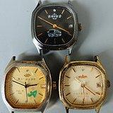 年底处理 老纪念机械手表3个