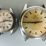 年底处理 瑞士老机械手表两个
