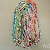年底处理 彩色水晶手链项链10个
