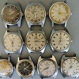 年底处理 老机械手表和表链一堆