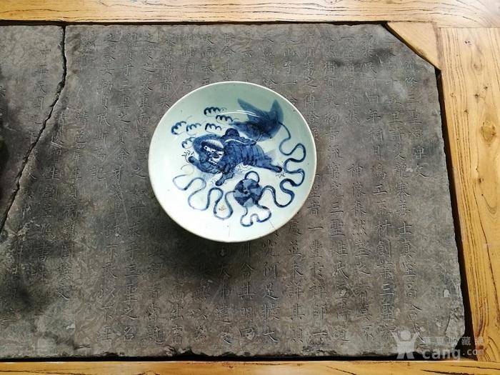 清代三圣祠碑文茶桌