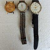 年底处理 老纪念石英手表3个