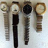 年底处理 老纪念石英手表4个