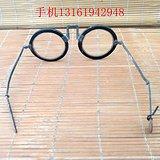 老古董眼镜  铜框架眼镜