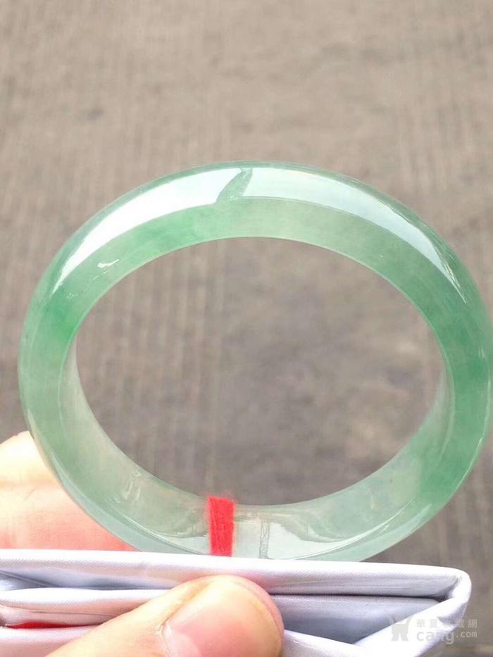 126 冰油绿手镯,特惠价120000